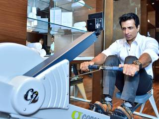Get fit with Sonu Sood