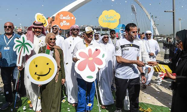 Happiness parade bring smiles to Dubai residents