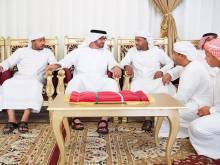 Hamdan offers condolences to martyr's family