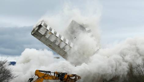 Pictures: The demolition of Bonn Center