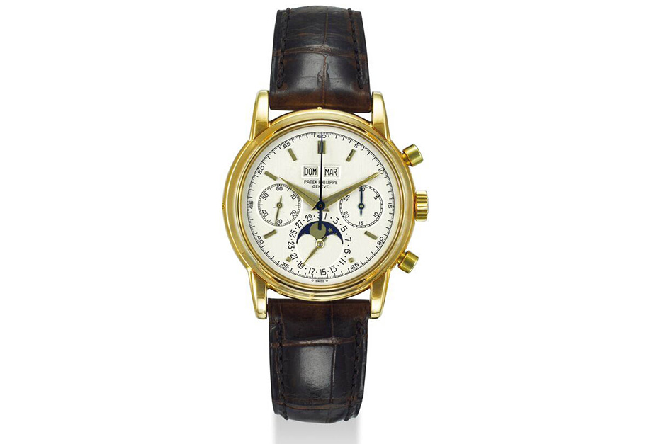 Patek Philippe selling for $499,500.