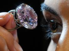 $60m 'Pink Star' diamond goes back on sale
