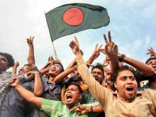 Dhaka erupts in joy as Bangladesh win 100th Test