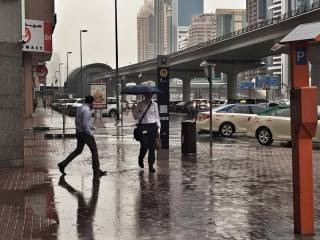 Rain and thunder forecast in UAE