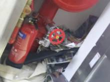Misuse of fire cabinets needs to stop