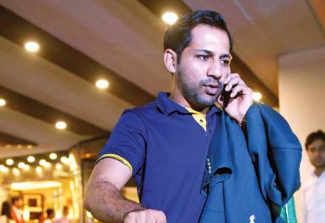 Sarfraz admits Pakistan going through tough time