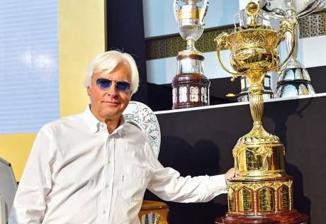 Arrogate's wide draw no worry for Baffert