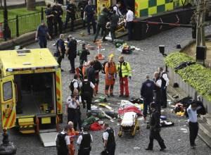 Pictures: Terror attack in the heart of London