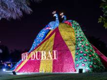 Let your eyes feast on lights in Dubai