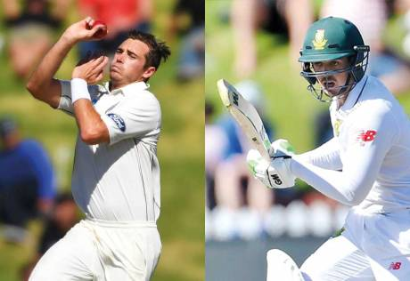 Injury blows for New Zealand and South Africa
