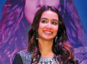 Shraddha Kapoor was shuttling between two worlds