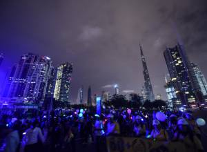 UAE landmarks embrace Earth Hour