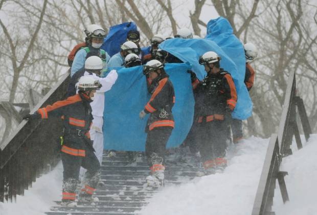Eight students killed in Japan avalanche