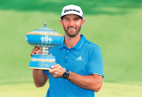 Johnson holds off Rahm for WGC Match Play crown