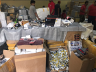 A massive haul of up to 3m items of fake goods, including cosmetics, mobile phones and accessories, and even contact lenses was seized by authorities in Dubai recently.