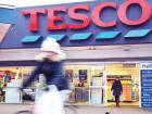 A Tesco supermarket in London. Tesco shares were down 0.4 per cent in early trading in London on Tuesday.