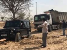 Watch: Hamdan saves stuck driver