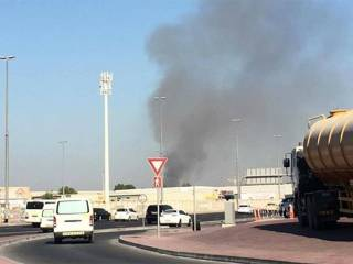 Fire breaks out near Dubai Airport