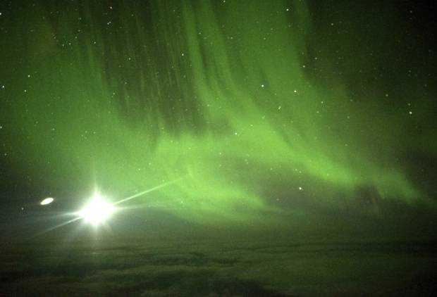 Fly for New Zealand's Southern Lights