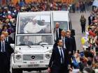 Pope visits Italian region rebuilt after quake