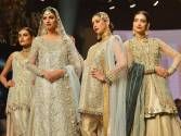Captivating display of bridal couture in Karachi