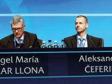 Uefa boss to fight Champions League 'blackmail'