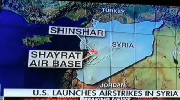 World Leaders React To The US Attack On Syrian Military Bases - React us heat map