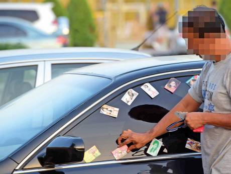 Barrage of massage cards frustrates residents gulfnews owners of parked vehicles often find visiting cards offering massage services on the windshield or tucked intoimage credit arshad aligulf news reheart Choice Image