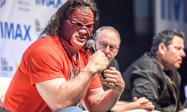 WWE superstar Kane in Dubai