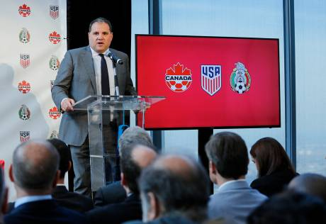 US, Mexico, Canada in joint World Cup bid