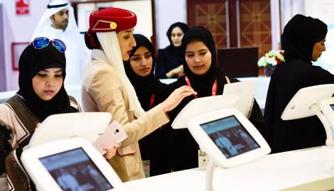 Jobseekers throng Careers UAE fair