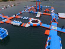 Visit Asia's largest floating water park