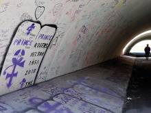 A Prince pilgrimage a year after his death