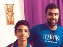 Ashwin's tips lift budding spinner's dream
