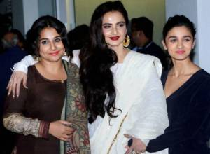 Shraddha, Vidya and Alia in Bollywood celebwatch