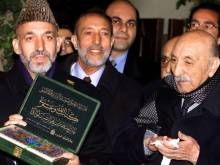 April 18, 2002: Former Afghan king returns home