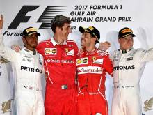 Vettel in forefront of title-chase, says Ferrari