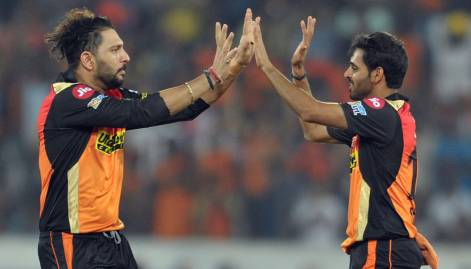 Pictures: Hyderabad beat Punjab by 5 runs in IPL