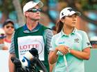 Caddie tees off at Ko camp after joining pile