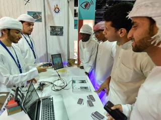 Think Science displays projects by UAE students