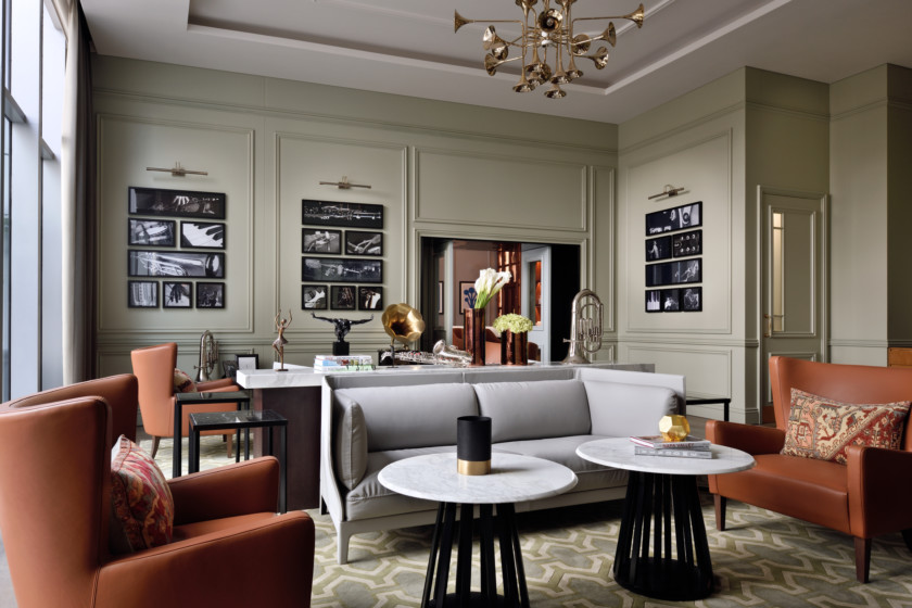 Music Room - The Restaurant at Address