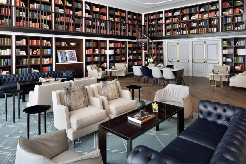 The Library - The Restaurant at Address