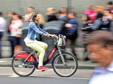 Cycling to work linked with big health benefits