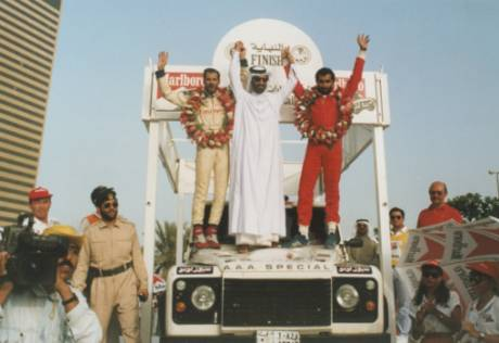 April 24, 1992: Mattar wins UAE Desert Challenge