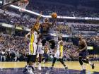 James to the fore as Cavaliers sweep Pacers