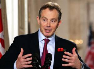 Tony Blair is a maestro singing the wrong tune