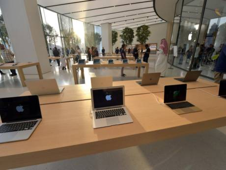 New Apple Store Opens Up To U2014 Literally U2014 The Dubai Fountain