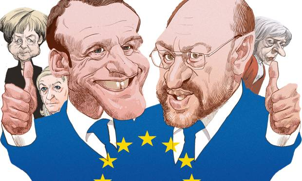 Macron and Schulz could revive EU