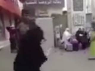 'Slapped woman' gets a helping hand