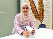 Emirati teen releases second book at book fair